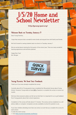 1/5/20 Home and School Newsletter
