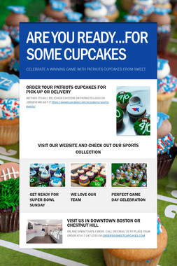 ARE YOU READY...FOR SOME CUPCAKES