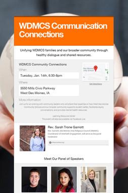 WDMCS Communication Connections