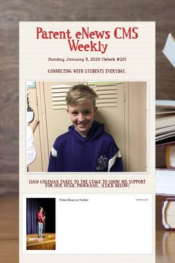 Parent eNews CMS Weekly
