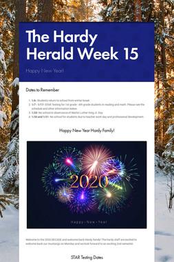 The Hardy Herald Week 15
