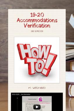 19-20 Accommodations Verification