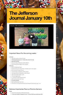 The Jefferson Journal January 10th