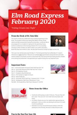 Elm Road Express   February 2020