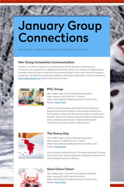 January Group Connections