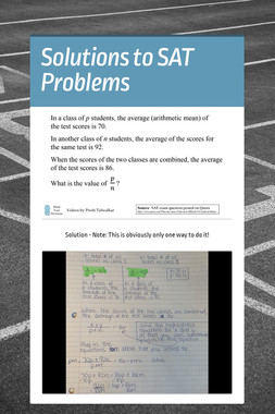 Solutions to SAT Problems