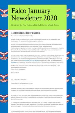 Falco January Newsletter  2020