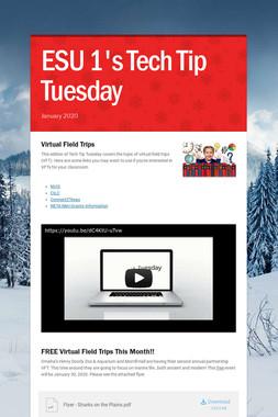 ESU 1's Tech Tip Tuesday