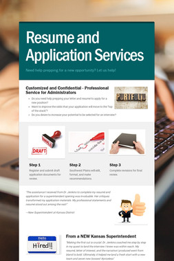 Resume and Application Services
