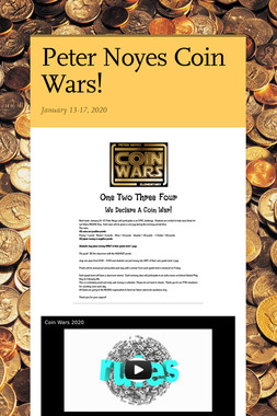 Peter Noyes Coin Wars!