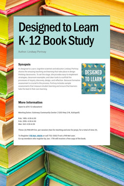 Designed to Learn K-12 Book Study