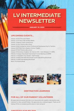 LV Intermediate Newsletter