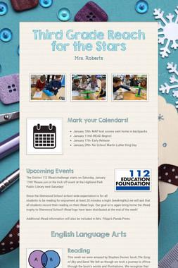Third Grade Reach for the Stars