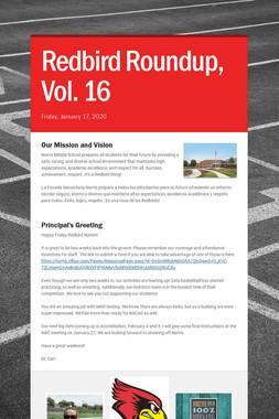 Redbird Roundup, Vol. 16