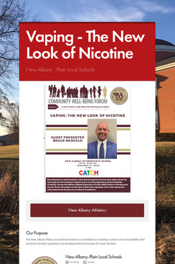 Vaping - The New Look of Nicotine
