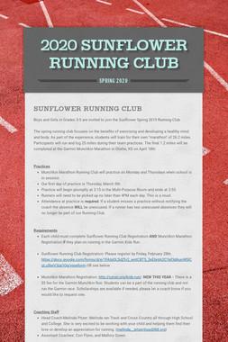 2020 Sunflower Running Club
