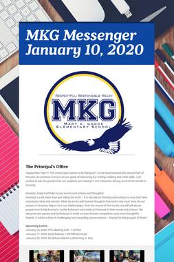 MKG Messenger January 10, 2020