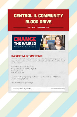 Central IL Community Blood Drive