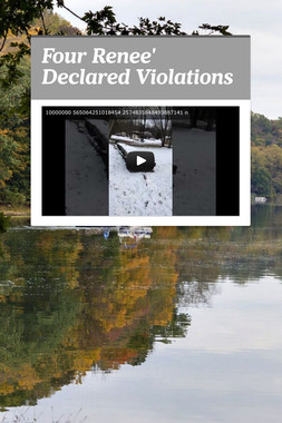 Four Renee' Declared Violations