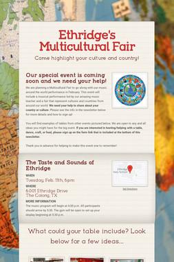 Ethridge's Multicultural Fair