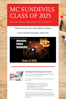 MC SUNDEVILS CLASS OF 2024