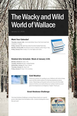 The Wacky and Wild World of Wallace