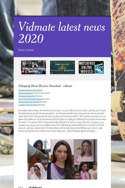 Vidmate latest news 2020