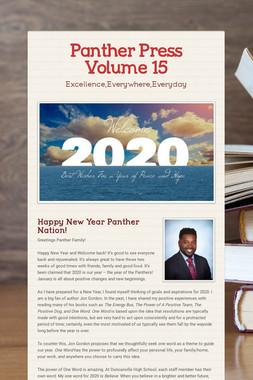 Panther Press Volume 15