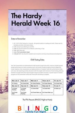 The Hardy Herald Week 16