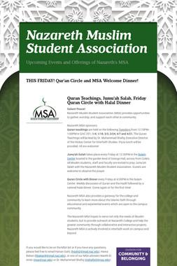 Nazareth Muslim Student Association
