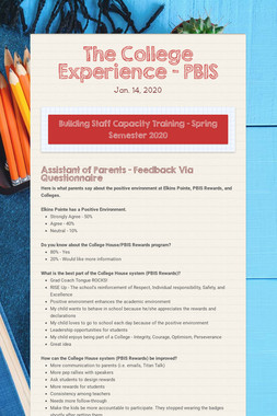 The College Experience - PBIS