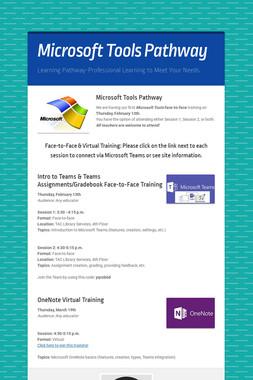 Microsoft Tools Pathway