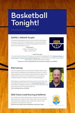 Basketball Tonight!
