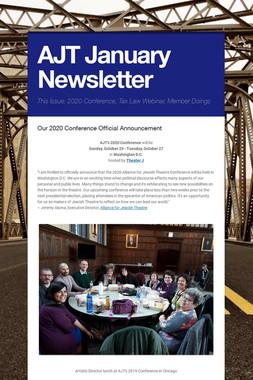 AJT January Newsletter