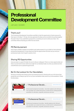 Professional Development Committee