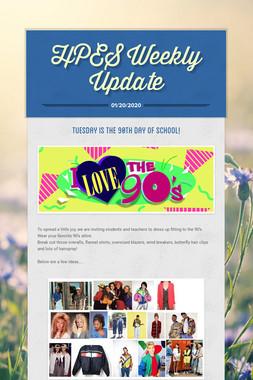 HPES  Weekly Update