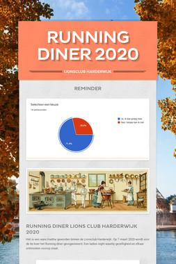 Running Diner 2020