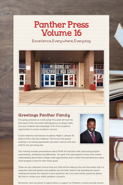 Panther Press Volume 16