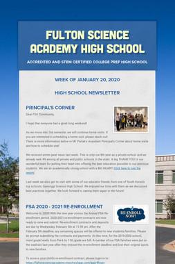 Fulton Science Academy High School