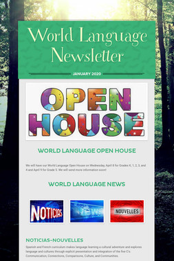 World Language Newsletter