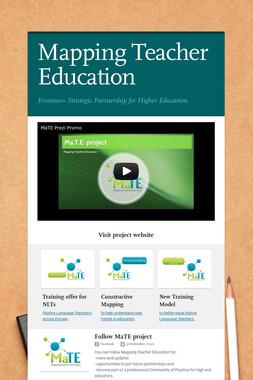 Mapping Teacher Education