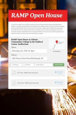 RAMP Open House