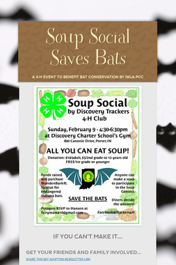 Soup Social Saves Bats