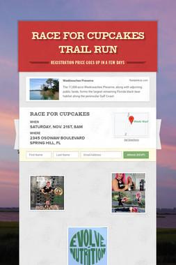 RACE FOR CUPCAKES TRAIL RUN