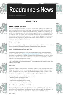 Roadrunners News