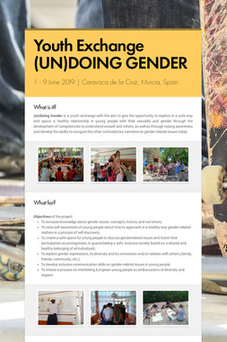 Youth Exchange (UN)DOING GENDER