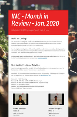 INC - Month in Review - Jan. 2020