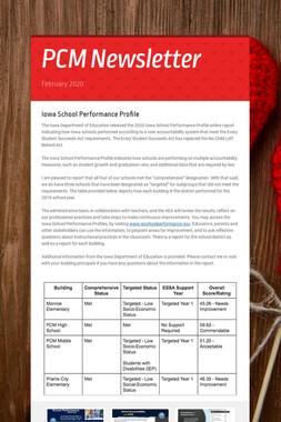 PCM Newsletter