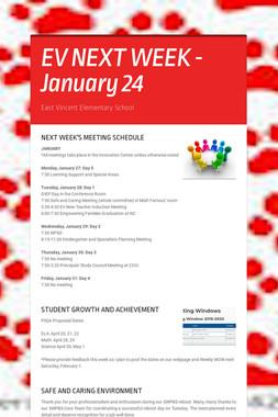 EV NEXT WEEK - January 24