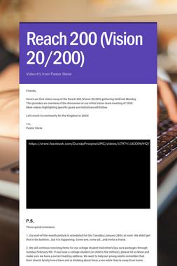 Reach 200 (Vision 20/200)